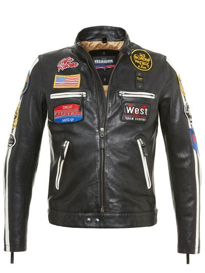 TAMPA - LINED LEATHER JACKET