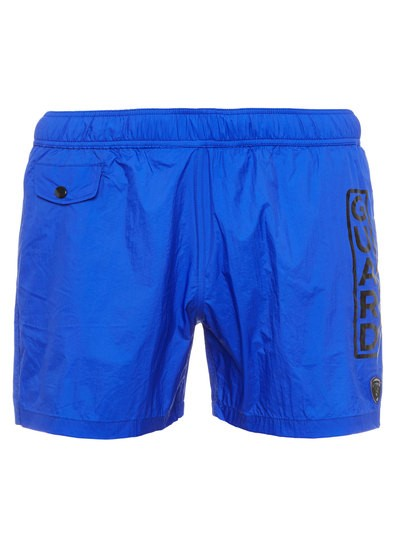 BEACHWEAR BOXER WITH WRITING
