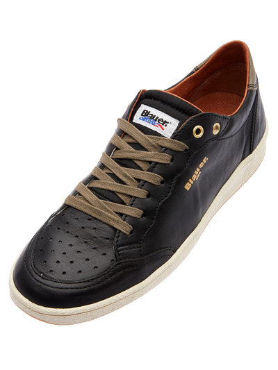 COMFORTABLE LEATHER SNEAKERS