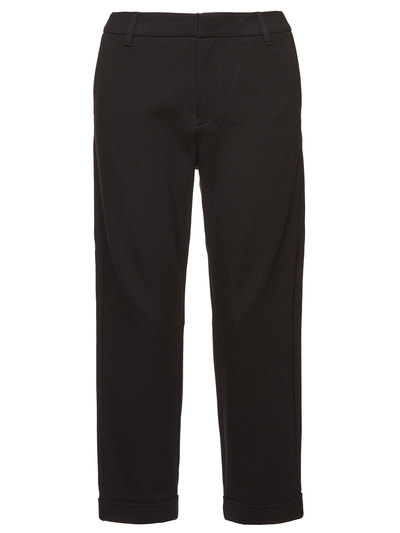 JERSEY CALF-LENGTH PANTS