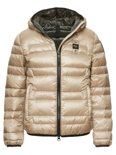GIRL'S DOWN JACKET WITH INSIDE IN BABY DOWN
