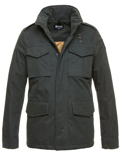 GIUBBOTTO FIELD-JACKET IN GABARDINA AARON
