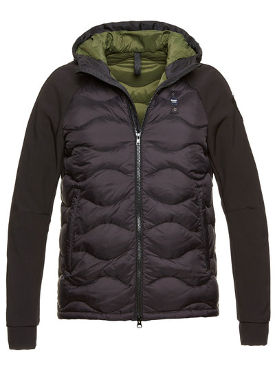 MATEO NEOPRENE WAVE-QUILTED DOWN JACKET