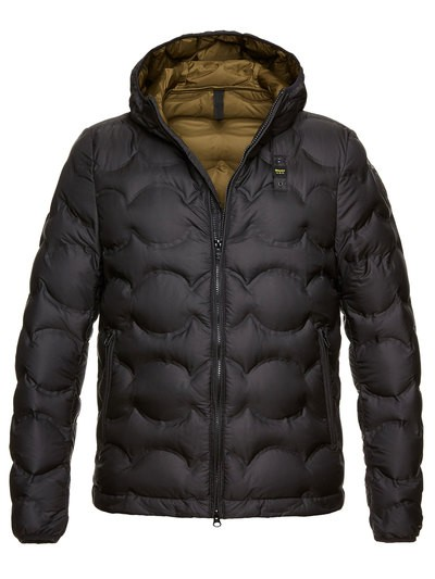 MEN'S DOWN JACKET IN OPAQUE WAVE GOOSE DOWN