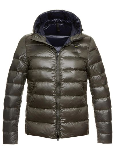 MAN'S GLOSSY NYLON DOWN JACKET
