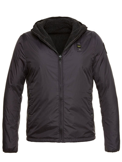 MASON DOUBLE FACE NYLON-ECO FUR JACKET