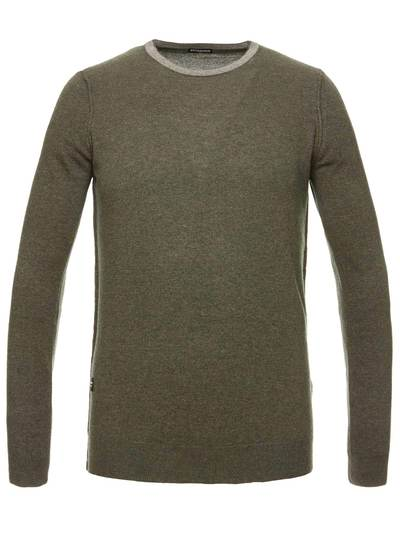 WOOL AND CASHMERE BLEND MEN'S SWEATER