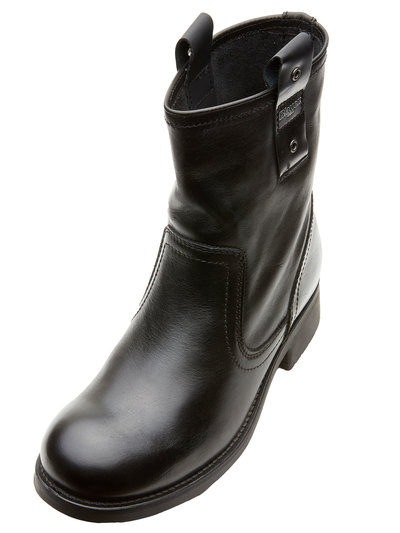 LEATHER BIKER BOOT