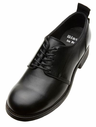 WOMEN'S LEATHER DERBY SHOES