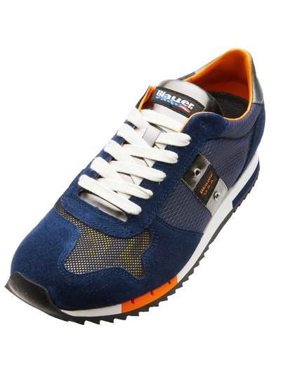 SCARPA SNEAKER IN PELLE COLORATA
