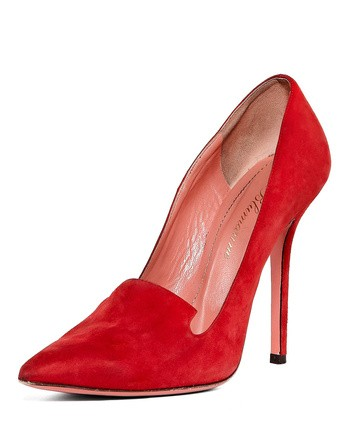 Calf Pointed Pumps