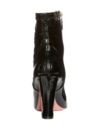 Patent Ankle Boots