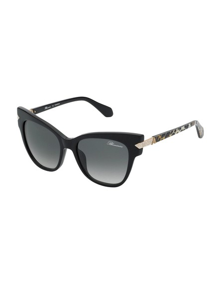 Butterfly Shaped Sunglasses With Swarovski Crystal