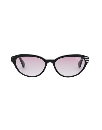 Cat-eye Shaped Eyeglasses With Swarovski Crystals