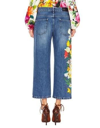Hand-painted Boyfriend Jeans