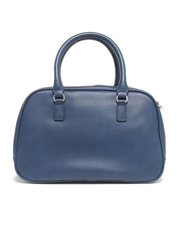 Two Handle Faux-leather Bag