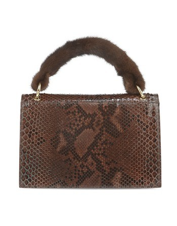 Python And Mink Handbag