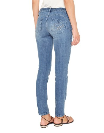 5 Pocket Push-up Jeans