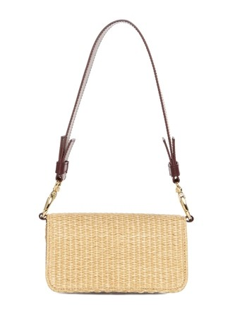 Braided Raffia Cross Body