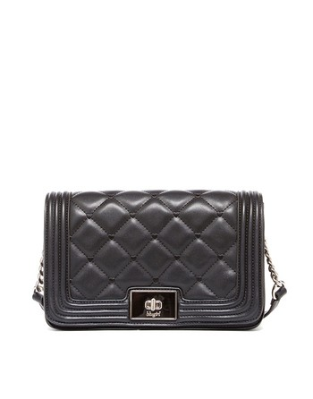 Quilted Eco-leather Crossbody