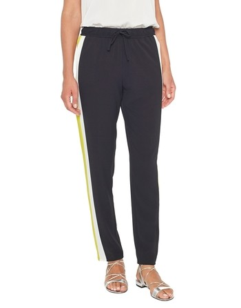 Crêpe De Chine Jogging Trousers
