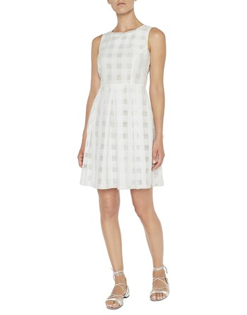 Vichy Organza Dress