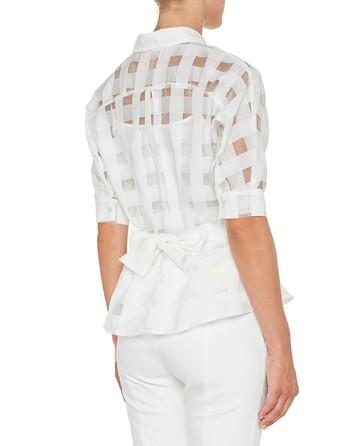 Camicia In Organza Vichy