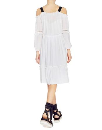 Viscose Dress With Shoulder Straps