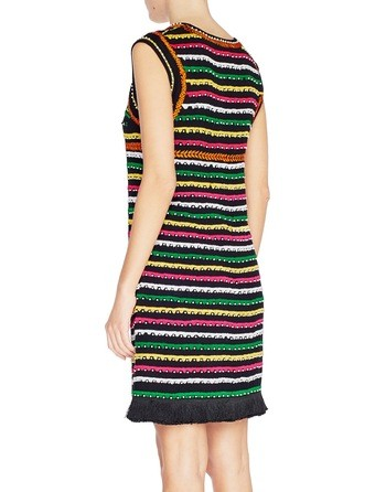 Viscose Dress With Ethnic Patterns