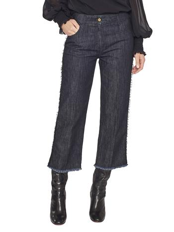 5-pocket Boyfriend Jeans With Lace