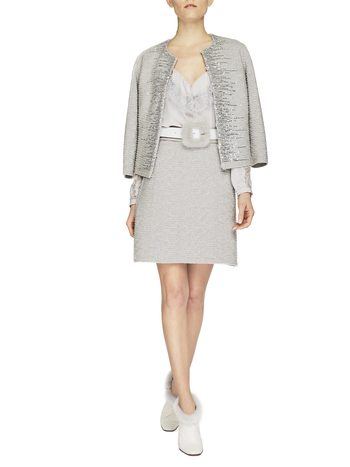 Knit Jacket With Lurex