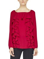 Blouse With Ruching