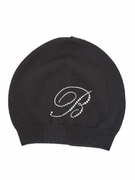 Woollen Hat With Swarovski Logo