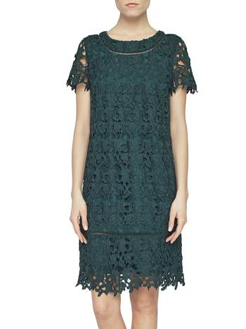 Macramé Lace A-line Dress
