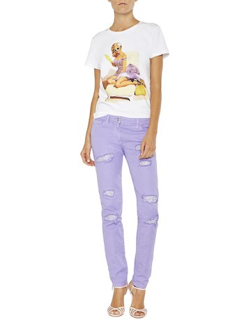 Pin-up Print T-shirt