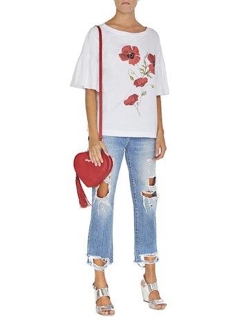 Poppy Print T-shirt