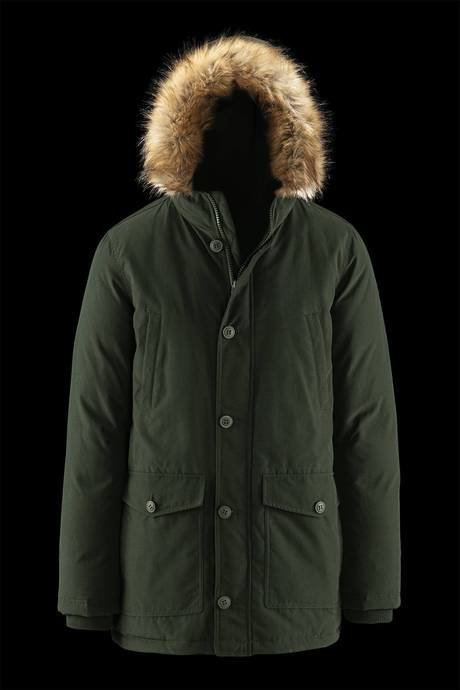 MAN COAT PARKA 679FTODB