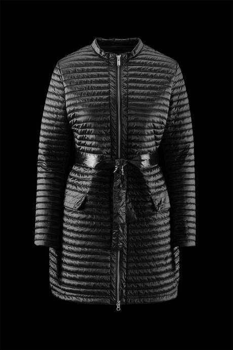 TRENCH WOMAN PADDING SYNTHETIC FEATHER EFFECT
