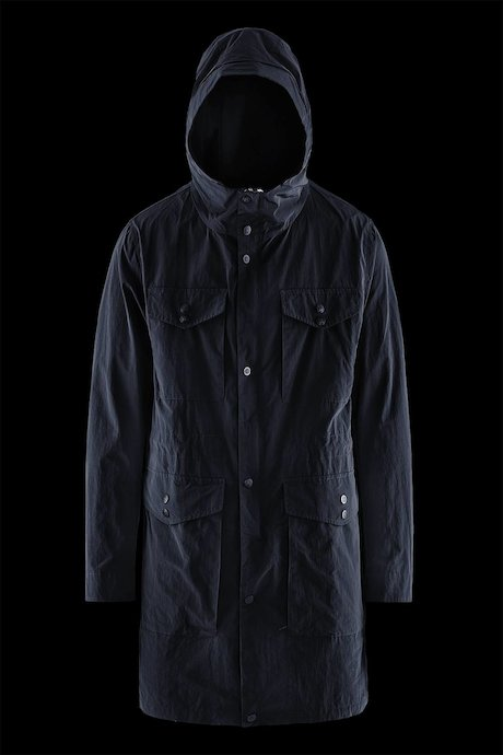 Man's Trench Multi pocket