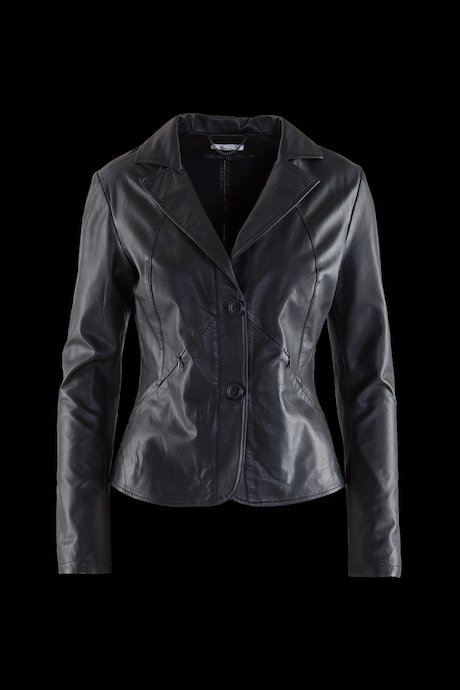 Woman's leather blazer Axa