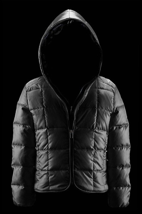 Girl down jacket Reversible