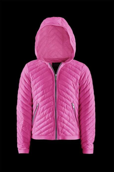 girl's jacket synthetic padding ultralight