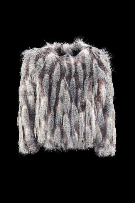 Girl ecofur coat chinchilla Cincillà