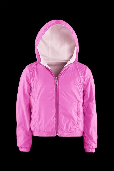 Girl's Jacket Reversibile