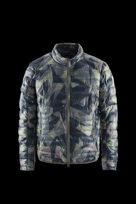 MAN JACKET SYNTHETIC PADDING PRESS CAMO