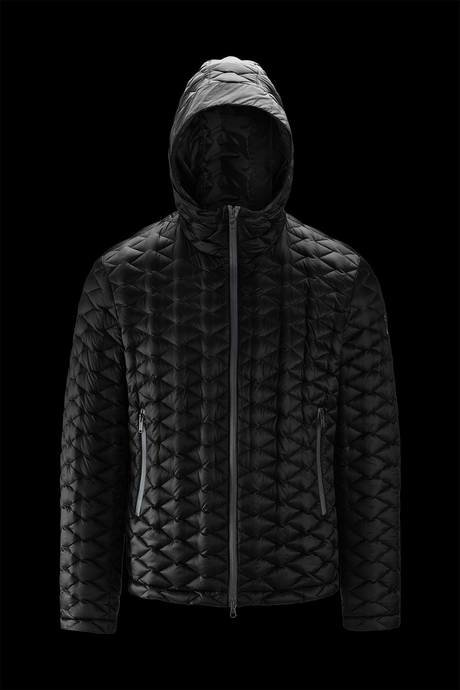 Man's down jacket Rhombus