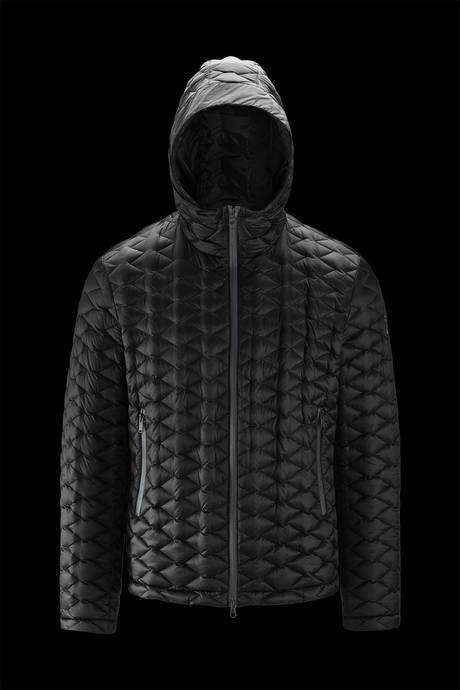 Man's down jacket Rhombus