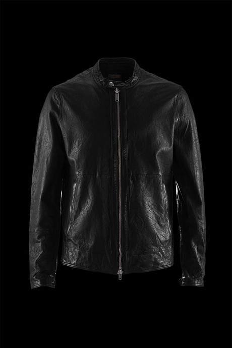 JACKET MAN LEATHER COMPLETELY UNLINED