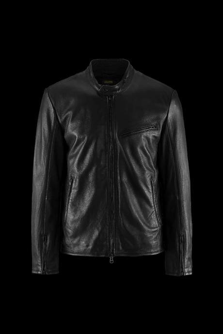Man's leather jacket Eddi