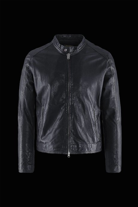Man's leather jacket Hall